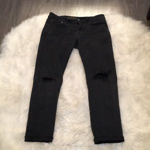 American eagle skinny stretchy jeans. Distressed